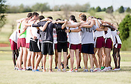 September 24, 2011: The Oklahoma Christian University Eagles men's cross country team participates in the OCU Fall Classic at the Oklahoma Publishing Company in Oklahoma City, OK.
