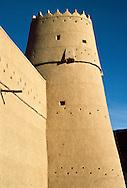 Qasr al-Masmak also know as Masmak Fort built in 1865 by King Abdullah III bin Faisal al-Saud.  1902 the fort was besieged by Emir Abdul Aziz bin Saud and taken back from al-Rashid.  Today is serves as a place where the modern state of Saudi Arabia emerged. Riyadh, Saudi Arabia