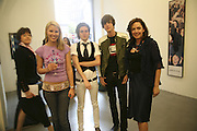 Petrina Khashoggi, Sean Blake, Matthew Greer and Judith Greer, THANK YOU FOR THE MUSIC (LONDON BEAT) opening , SPR†TH MAGERS LEE and afterwards in the Grill Room of the Cafe Royal. 29 June 2006. ONE TIME USE ONLY - DO NOT ARCHIVE  © Copyright Photograph by Dafydd Jones 66 Stockwell Park Rd. London SW9 0DA Tel 020 7733 0108 www.dafjones.com