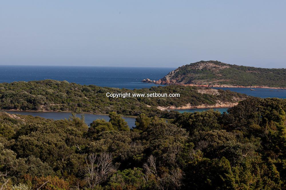 Corsica. France. Rondinara bay near Bonifacio, Corsica south / la baie de Rondinara pres de Bonifacio, Corse du sud