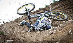 12.06.2011, Bikepark, Leogang, AUT, UCI MOUNTAINBIKE WORLDCUP, LEOGANG, im Bild Michael Hannah, AUS // during the UCI MOUNTAINBIKE WORLDCUP, LEOGANG, AUSTRIA, 2011-06-12, EXPA Pictures © 2011, PhotoCredit: EXPA/ J. Feichter