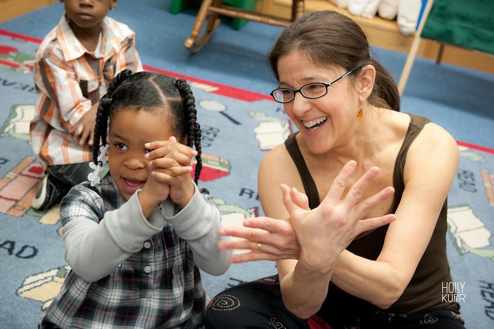 Music class in schools in America