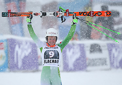 17.01.2016, Hermann Maier Weltcupstrecke, Flachau, AUT, FIS Weltcup Ski Alpin, Flachau, Damen, Riesenslalom, 2. Lauf, im Bild Ana Drev (SLO, 2. Platz) // second placed Ana Drev of Slovenia reacts after her 2nd run of Ladie's Giant Slalom for the FIS Ski Alpine World Cup at the Hermann Maier Weltcupstrecke in Flachau, Austria on 2016/01/17. EXPA Pictures © 2016, PhotoCredit: EXPA/ Johann Groder