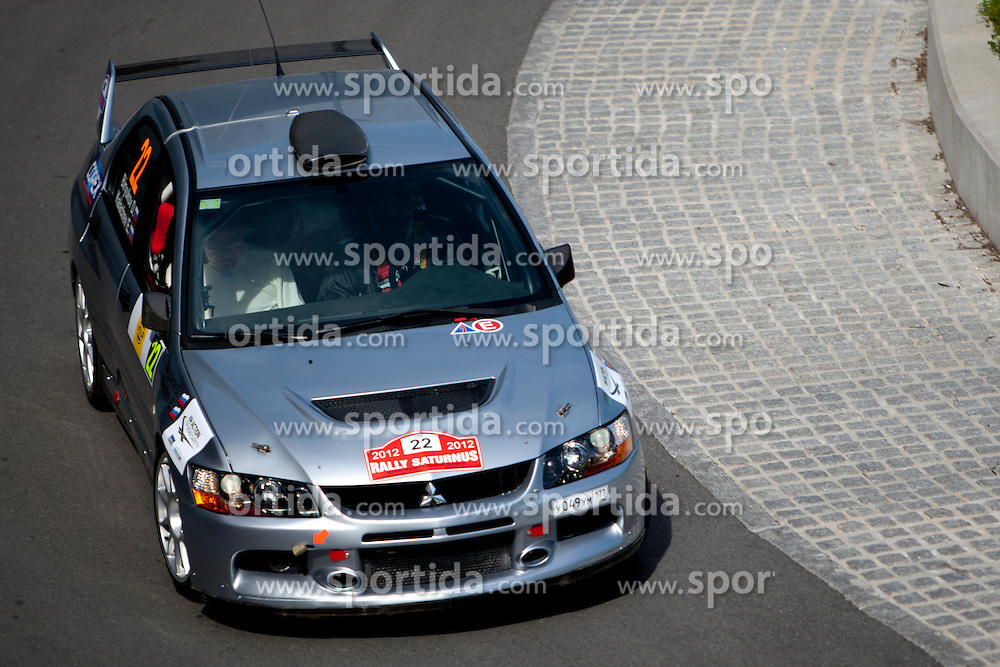 Dmitry Biryukov before 35th Rally Saturnus, on May 11, 2012, in SRC Stozice, Ljubljana, Slovenia. (Photo by Urban Urbanc / Sportida)