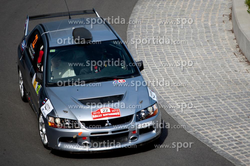 Dmitry Biryukov before 35th Rally Saturnus, on May 11, 2012, in SRC Stozice, Ljubljana, Slovenia. (Photo by Urban Urbanc / Sportida)