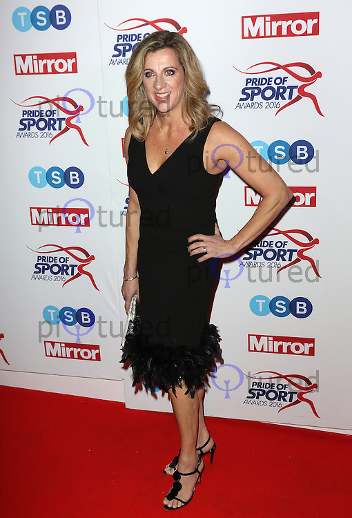 Sally Gunnell, Pride of Sport Awards, Grosvenor House Hotel, London UK, 07 December 2016, Photo by Richard Goldschmidt