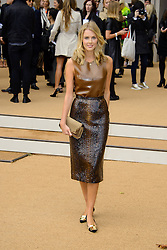 Arrivals for Burberry Prorsum Spring / Summer 2014. <br /> Donna Air arrives for the Burberry Prorsum Spring / Summer 2014 show, London, United Kingdom. Monday, 16th September 2013. Picture by Chris Joseph / i-Images