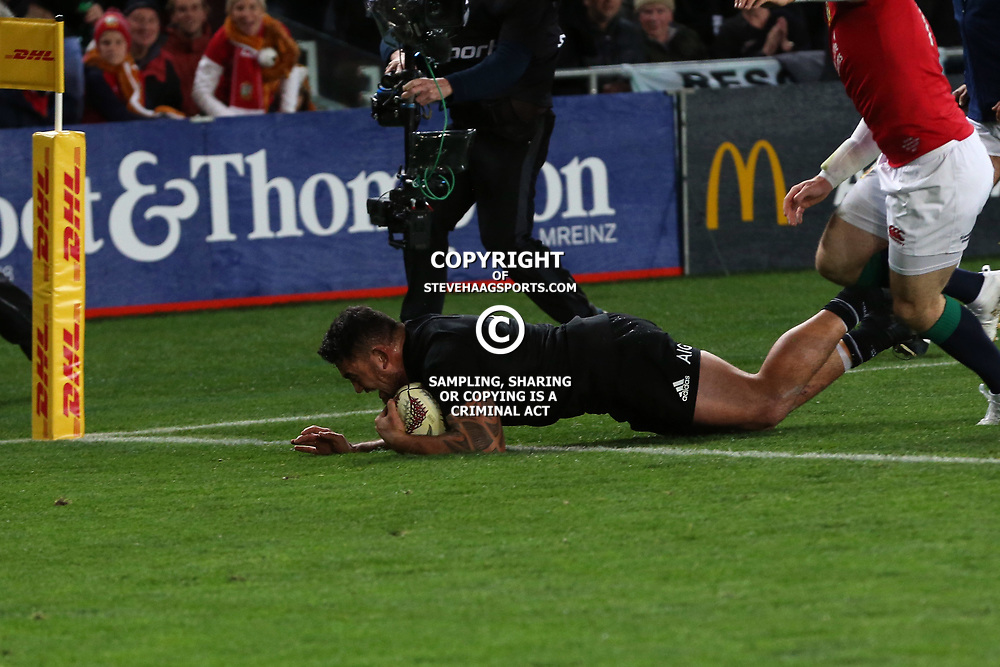Codie Taylor during game 7 of the British and Irish Lions 2017 Tour of New Zealand, the first Test match between  The All Blacks and British and Irish Lions, Eden Park, Auckland, Saturday 24th June 2017<br /> (Photo by Kevin Booth Steve Haag Sports)<br /> <br /> Images for social media must have consent from Steve Haag