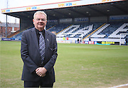 Chris Dunphy Rochdale Chairman during the Sky Bet League 1 match between Rochdale and Sheffield Utd at Spotland, Rochdale, England on 27 February 2016. Photo by Daniel Youngs.