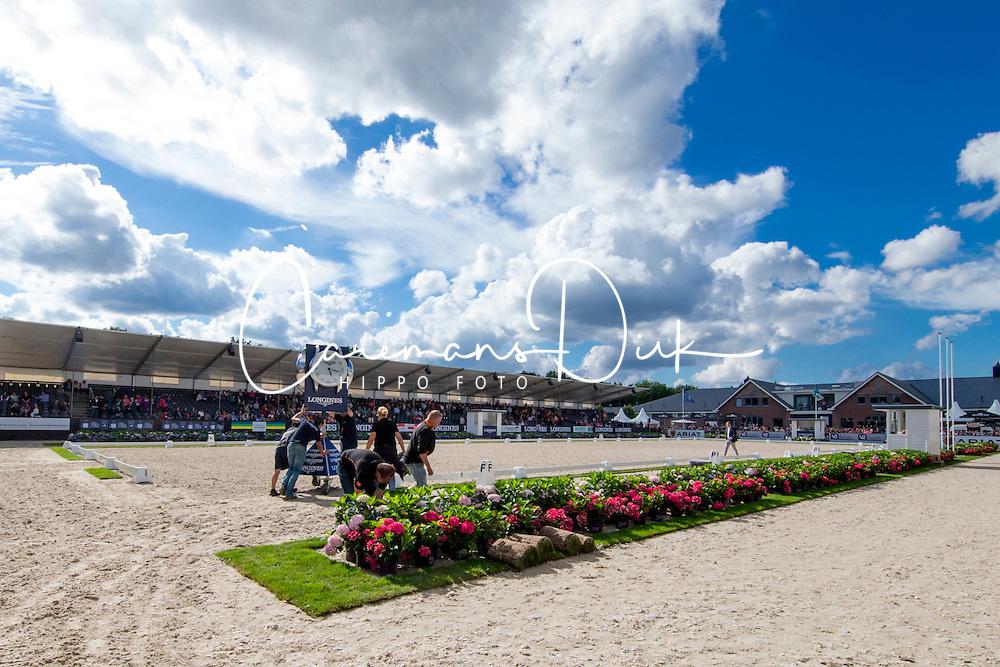Overview<br /> World Championship Young Dressage Horses <br /> Ermelo 2016<br /> © Hippo Foto - Dirk Caremans<br /> 31/07/16