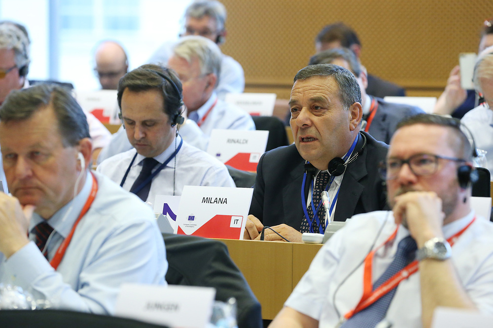 11 May 2017, 123rd Plenary Session of the European Committee of the Regions <br /> Belgium - Brussels - May 2017 <br /> <br /> MILANA Guido, Consigliere del Comune di Olevano Romano, Italy<br /> <br /> &copy; European Union / Patrick Mascart