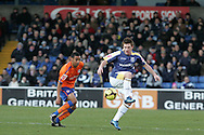 Ross McCormack of Cardiff City. FA Cup, 3rd round match, Cardiff City v Reading at Ninian Park, Cardiff on Sat 3rd Jan 2009. .pic by Andrew Orchard, Andrew Orchard sports photography