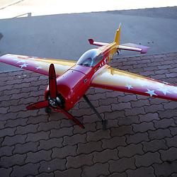 Model Aircraft Flying
