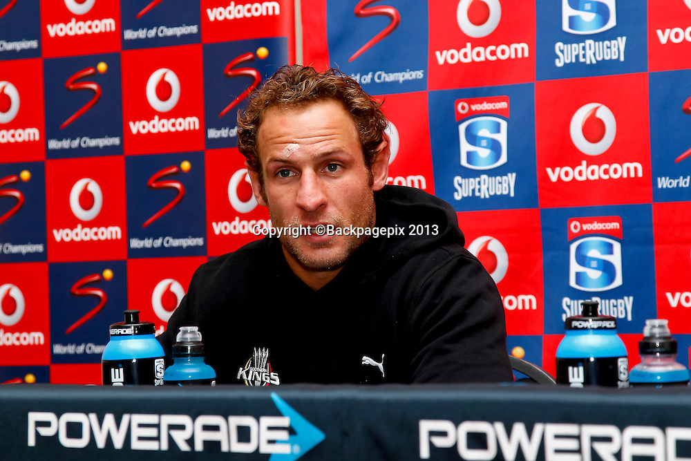 Andries Strauss (Vice Captain) of the Southern Kings during the match between Southern Kings and the Mr Blue Bulls on the 20 April 2013 at the Nelson Mandela Bay Stadium © Michael Sheehan