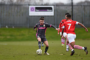 Jamie Shackleton of Leeds United Under 23's during the U23 Professional Development League match between Barnsley and Leeds United at Oakwell, Barnsley, England on 9 March 2020.