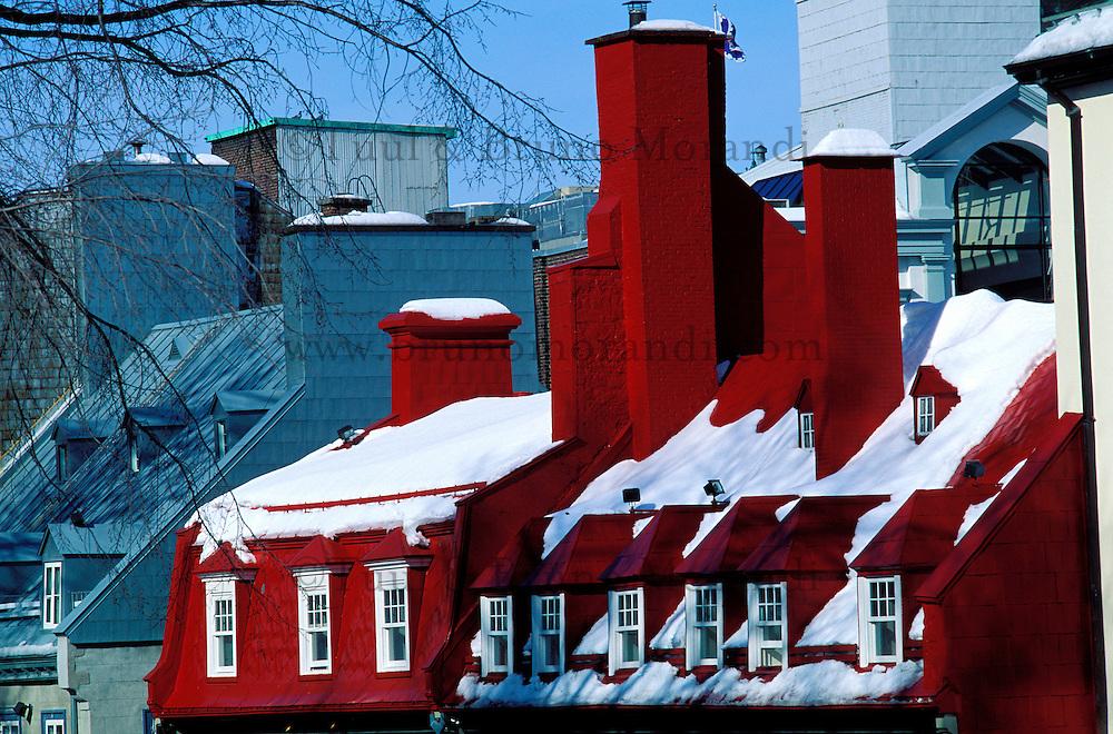 Canada, Province du Quebec, Ville de Quebec, Place de l'Hotel de ville // Canada, Quebec province, Quebec city, Hotel de ville square