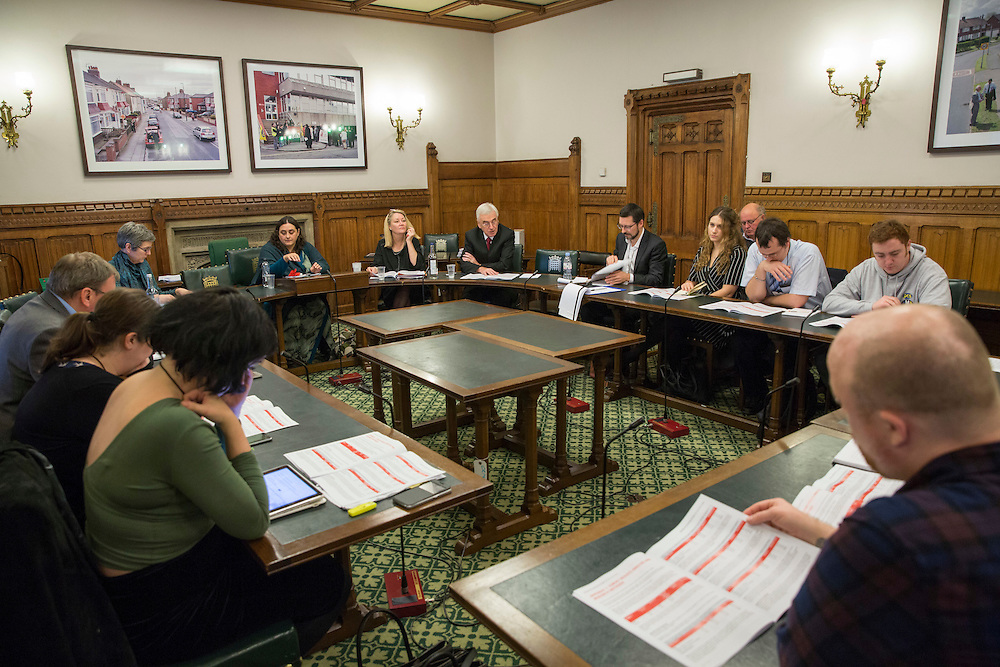 The lauch of HMRC: Building an uncertain future - The cuts don't work. A report by the Public and Commercial Services Union and the Tax Justice Network. Committe room 17, The House of Commons. Westminster. 15th November 2016.