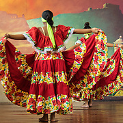 Dancers showcase traditional performance in the Old City, Cartagena, Colombia.