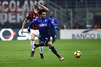 Milan-Lazio - Tim Cup 2017/18 - Semifinale di andata - Nella foto: Felipe Anderson - Calcio Serie A - Lazio