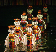Water Puppet Theatre. Ballet dancers.