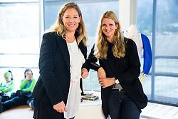 Urska Horvat Zagar and Spela Pretnar during official presentation of the outfits of the Slovenian Ski Teams before new season 2016/17, on October 18, 2016 in Planica, Slovenia. Photo by Vid Ponikvar / Sportida