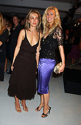 Left to right, SAHAR HASHEMI and JENNY HALPERN at a party hosted by Jo Malone - Pomegranate Noir, held at The Vinyl Factory, 45 Foubert's Place, London W1 on 15th September 2005.<br /><br />NON EXCLUSIVE - WORLD RIGHTS