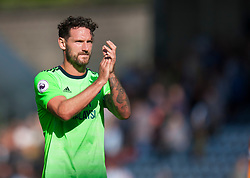Sean Morrison of Cardiff City applauds the fans at the final whistle - Mandatory by-line: Jack Phillips/JMP - 25/08/2018 - FOOTBALL - The John Smith's Stadium - Huddersfield, England - Huddersfield Town v Cardiff City - English Premier League