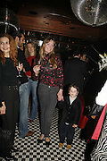 Elli Kosh and her son Gabriel Kosh, Spring party at Frankie Dettori's bar and Grill. 3 Yeoman's Row. London sw3. 10 April 2006. ONE TIME USE ONLY - DO NOT ARCHIVE  © Copyright Photograph by Dafydd Jones 66 Stockwell Park Rd. London SW9 0DA Tel 020 7733 0108 www.dafjones.com
