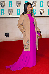 © Licensed to London News Pictures. 14/02/2016. London, UK. ANGELA BASSETT arrives on the red carpet for the EE British Academy Film Awards 2016 after party held at Grosvenor House . London, UK. Photo credit: Ray Tang/LNPPhoto credit: Ray Tang/LNP