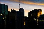Dusk Over Manhattan - New York City, U.S.A.