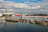 Saint Nazaire, 25/10/2014: cantieri navali - shipyards.<br /> &copy; Andrea Sabbadini