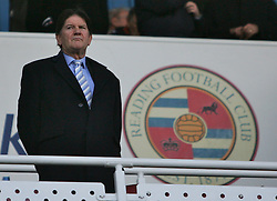Reading, England - Saturday, January 20, 2007: Reading's owner John Madjeski against Sheffield United during the Premier League match at the Madejski Stadium. (Pic by Chris Ratcliffe/Propaganda)
