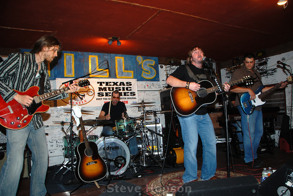 """Country music star, Brandon Rhyder, performs at the Hill's Cafe in Austin Texas, April 30 2008.  About himself, Texas native Rhyder says,  """"I may not be a cowboy, but I am as country as they come!"""""""