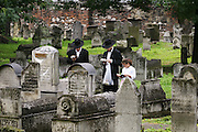 Krakow, Poland. Remuh Synagogue and Cemetery.