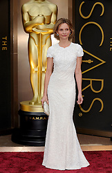 Calista Flockhart arriving to the 2014 Oscars at the Hollywood and Highland Center in Hollywood, California, USA,  Sunday, 2nd March 2014. Picture by Hollywood Bubbles / i-Images<br /> UK ONLY