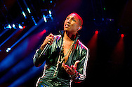 Amsterdam (Holland). 23-9-2014. Sold out concert from American singer/songwriter Pharrell Williams (The Dear Girl Tour) held at the Ziggo Dome. On the photo Pharrell Williams. concert in amsterdam  copyright robin utrecht