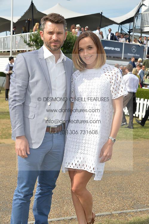 VICTORIA PENDLETON and SCOTT GARDNER at the Laureus Polo held at Ham Polo Club, Ham, Richmond, Surrey on 18th June 2015.