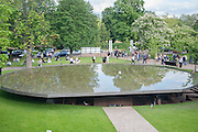 Serpentine Gallery Pavilion 2012 Designed by Herzog & de Meuron and Ai Weiwei . Yoko Ono.- to the Light. Serpentine Gallery. London. 19 June 2012.