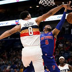 01-23-2019 Detroit Pistons at New Orleans Pelicans