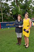 15/08/2013  Triona Sweeney from Millars Clifden with Jean Osborne from Oughterard  winner of the best dressed at the 90th Connemara Pony show in Clifden Co. Galway. Photo:Andrew Downes