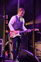 Thomas Selmer-Olsen, Mango Groove. Cape Town Jazz Festival Free Community Concert, 29 March 2017. Greenmarket Square. Photo by Alec Smith/imagemundi.com