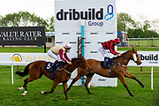 Three Little Birds ridden by Gary Mahon and trained by Ronald Harris in the Octagon Consultancy Handicap race. Union Rose ridden by David Probert and trained by Ronald Harris in the Octagon Consultancy Handicap race.  - Ryan Hiscott/JMP - 24/05/2019 - PR - Bath Racecourse - Bath, England - Friday 24th May 2019 Race Meeting at Bath Racecourse