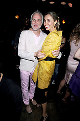 MOMO (Mourad Mazouz)  and ALLEGRA HICKS at Maria Castani's birthday party held at Sketch, 9 Conduit St, London on 14th July 2008.<br /> <br /> NON EXCLUSIVE - WORLD RIGHTS