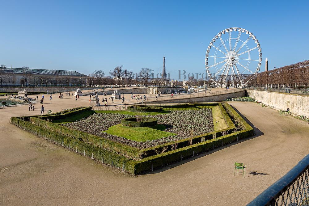 Jardin des Tuileries // Jardin des Tuileries park, Paris, France