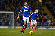 Portsmouth Defender, Christian Burgess (6) during the EFL Sky Bet League 2 match between Portsmouth and Morecambe at Fratton Park, Portsmouth, England on 28 February 2017. Photo by Adam Rivers.