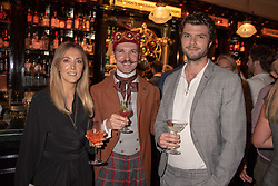 Guests at the launch of Mr Fogg's Society of Exploration, 1a Bedford Street, London,  England. 13 September 2018.