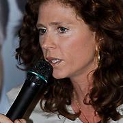 NLD/Amsterdam/20100310 - Presentatie van de 4de editie van het blad Helden, Barbara Barend