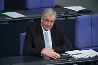 22 FEB 2013, BERLIN/GERMANY:<br /> Ernst Burgbacher, FDP, Staatssekretaer Bundeswirtschaftsministerium, Bundestagsdebatte zum Verbraucherschutz, Plenum, Deutscher Bundestag<br /> IMAGE: 20130222-01-006