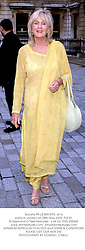 Society PR LIZ BREWER, at a party in London on 28th May 2003.PJZ 81