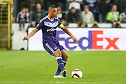 Anderlecht Midfielder Youri Tielemans during the UEFA Europa League Quarter-final, Game 1 match between Anderlecht and Manchester United at Constant Vanden Stock Stadium, Anderlecht, Belgium on 13 April 2017. Photo by Phil Duncan.